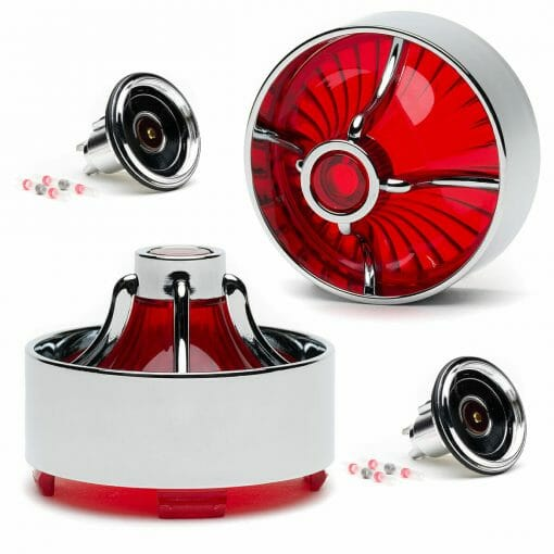 Red Turbine Kit For Indian Motorcycles